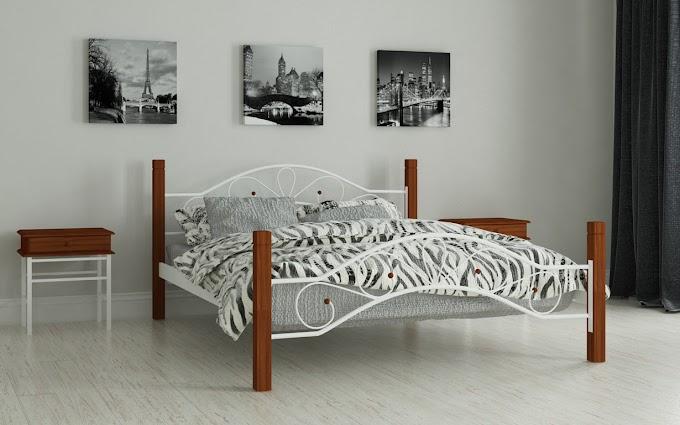 Кровать металлическая Фелисити 120х190/200 ТМ Мадера