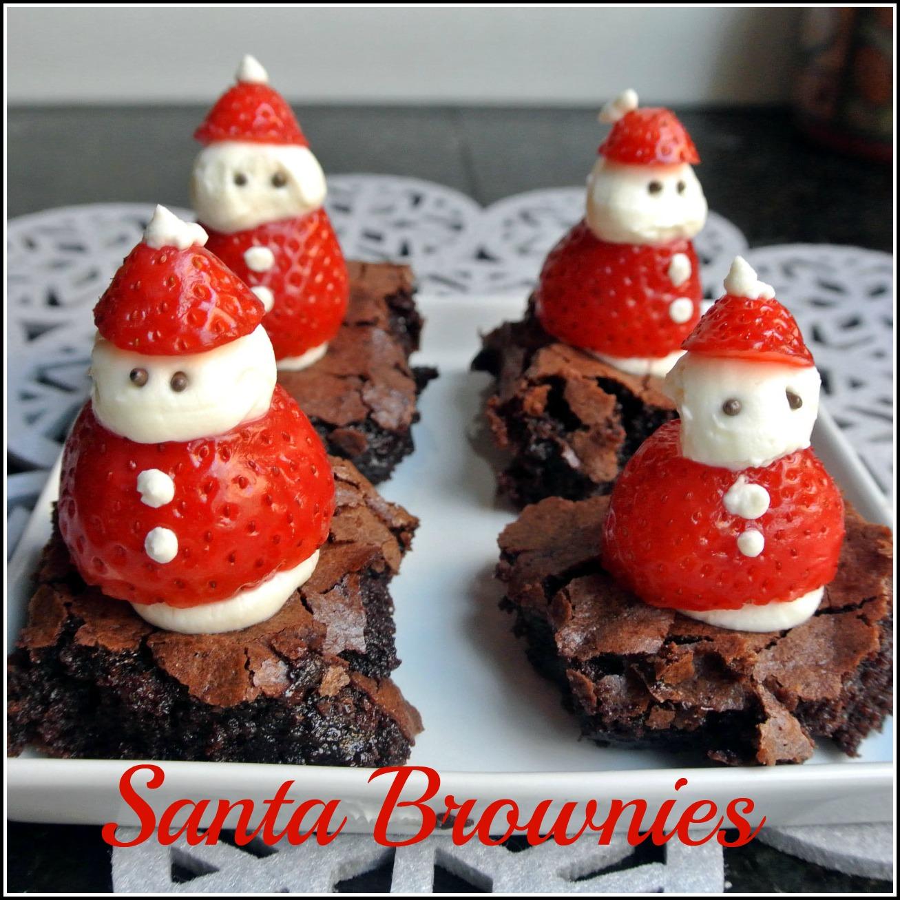 Mom, What's For Dinner?: Santa Brownies