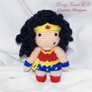PATRON WONDER WOMAN AMIGURUMI 27591