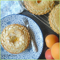 Recipe for making Apricot and Orange Frangipane Tarts