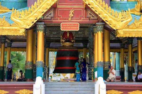 Campana del rey Tharrawaddy en la Pagoda Shwedagon