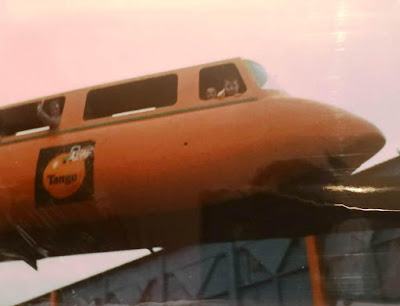 Butlin's Somerwest World Monorail. From the Gottfried family photo archive 2019
