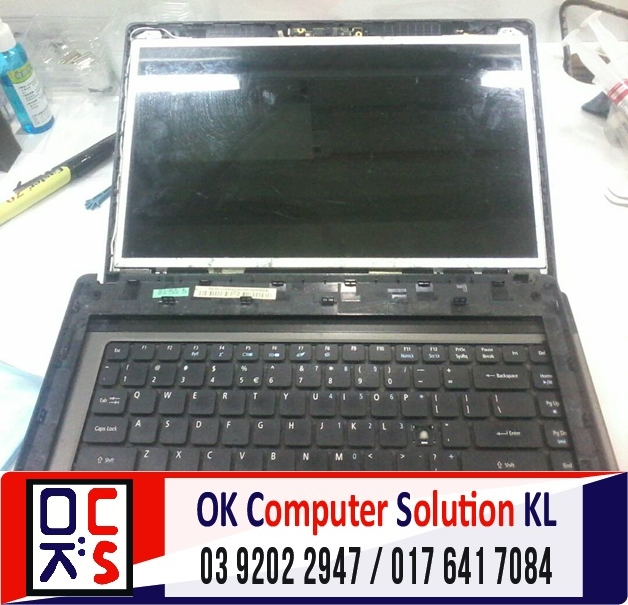 [SOLVED] SKRIN ACER ASPIRE 4750 CRACK | REPAIR LAPTOP CHERAS 2