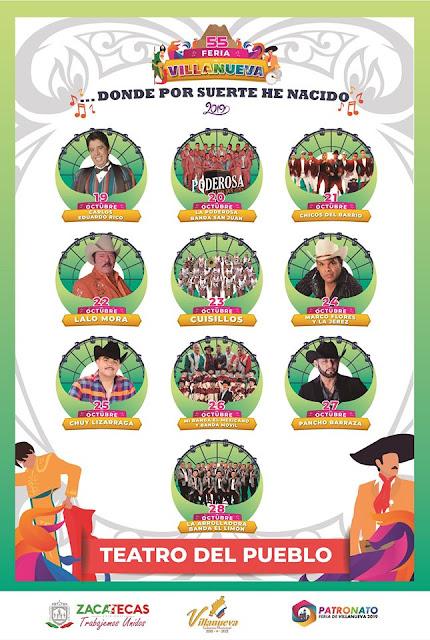 programa Feria Villanueva 2019