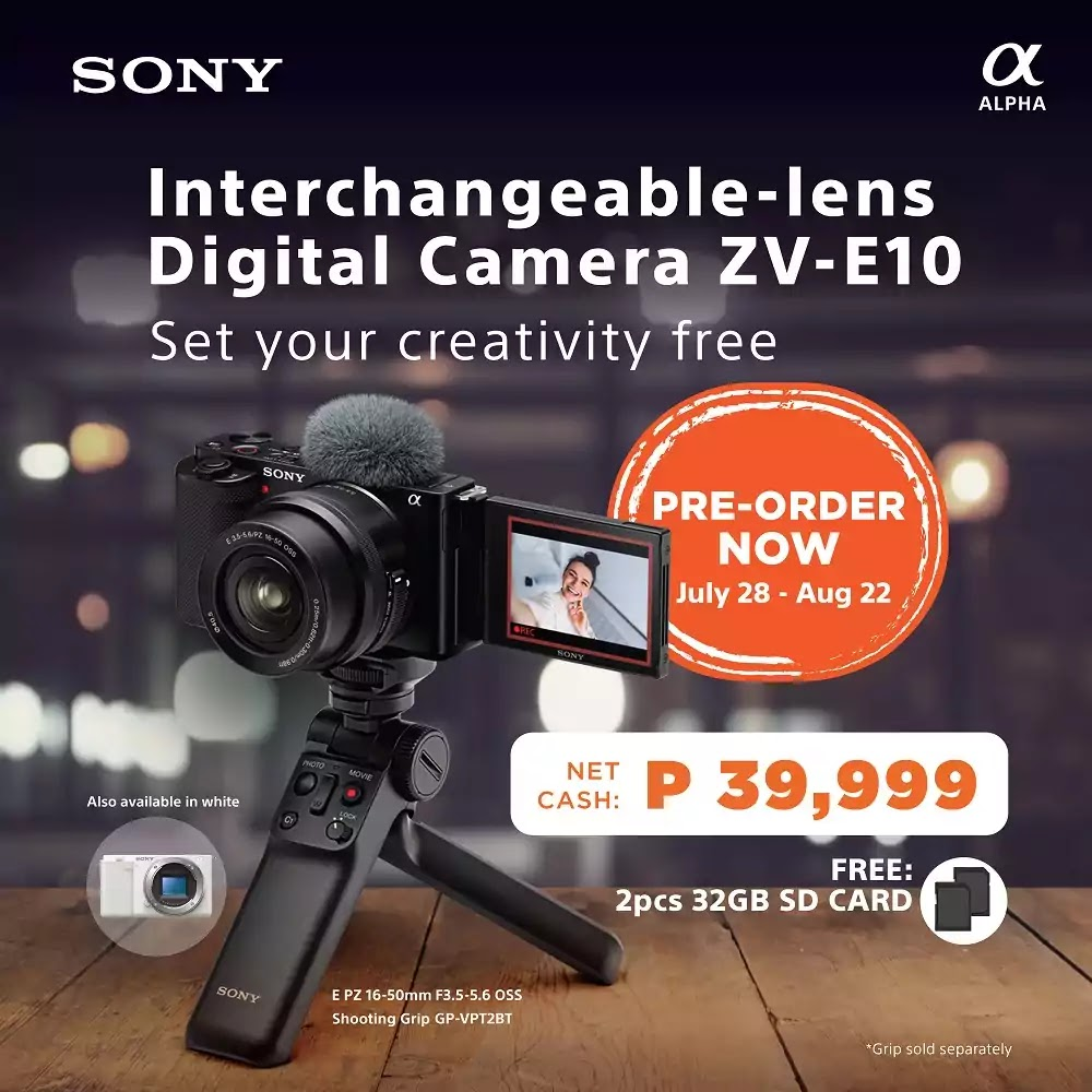 Sony Alpha ZV-E10 Preorder