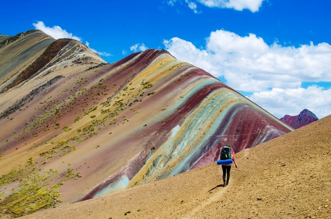 The Psychedelic Rainbow Mountains Of Peru Are Breathtaking