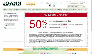 Free Printable Joann Coupons