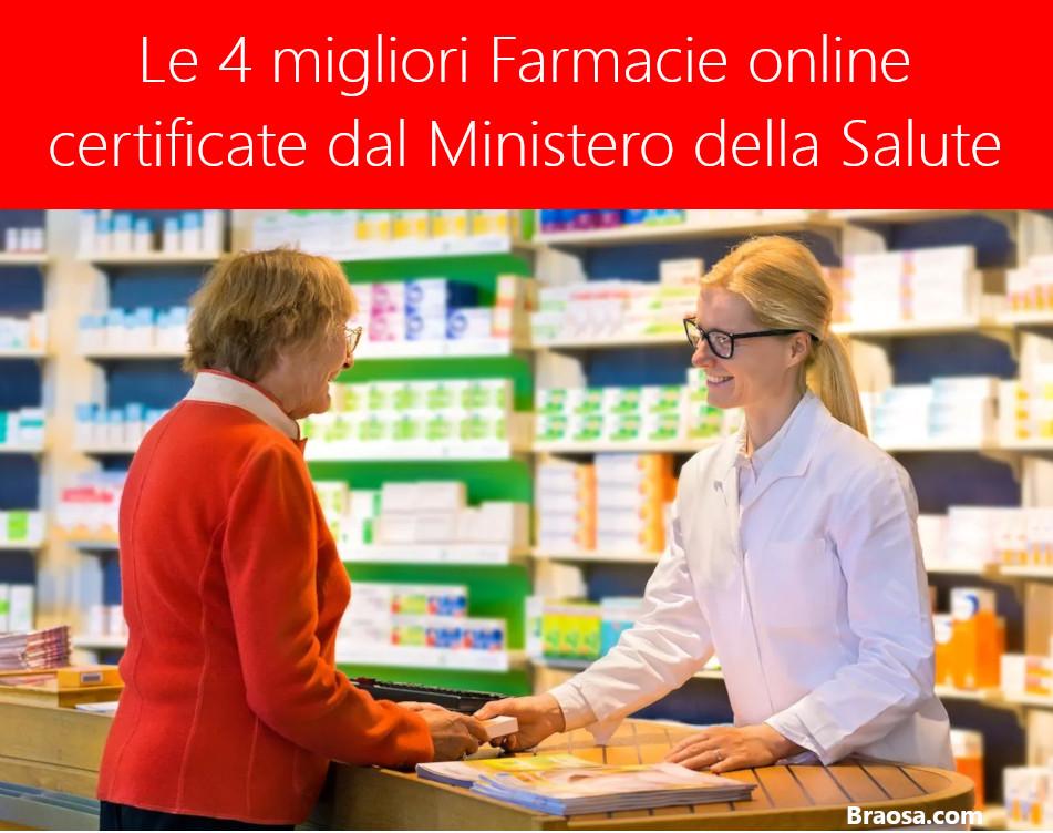 Le 4 migliori farmacie online certificate dal Ministrero della Salute