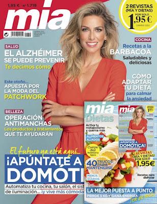 revista mia y obsequio octubre 2019