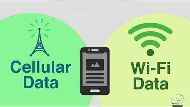 دمج بيانات الهاتف مع واي فاي لتسريع النت