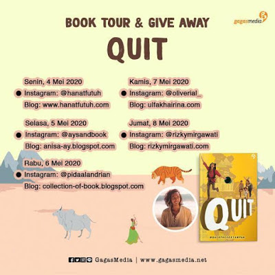Booktour Quit Backpacker Tampan