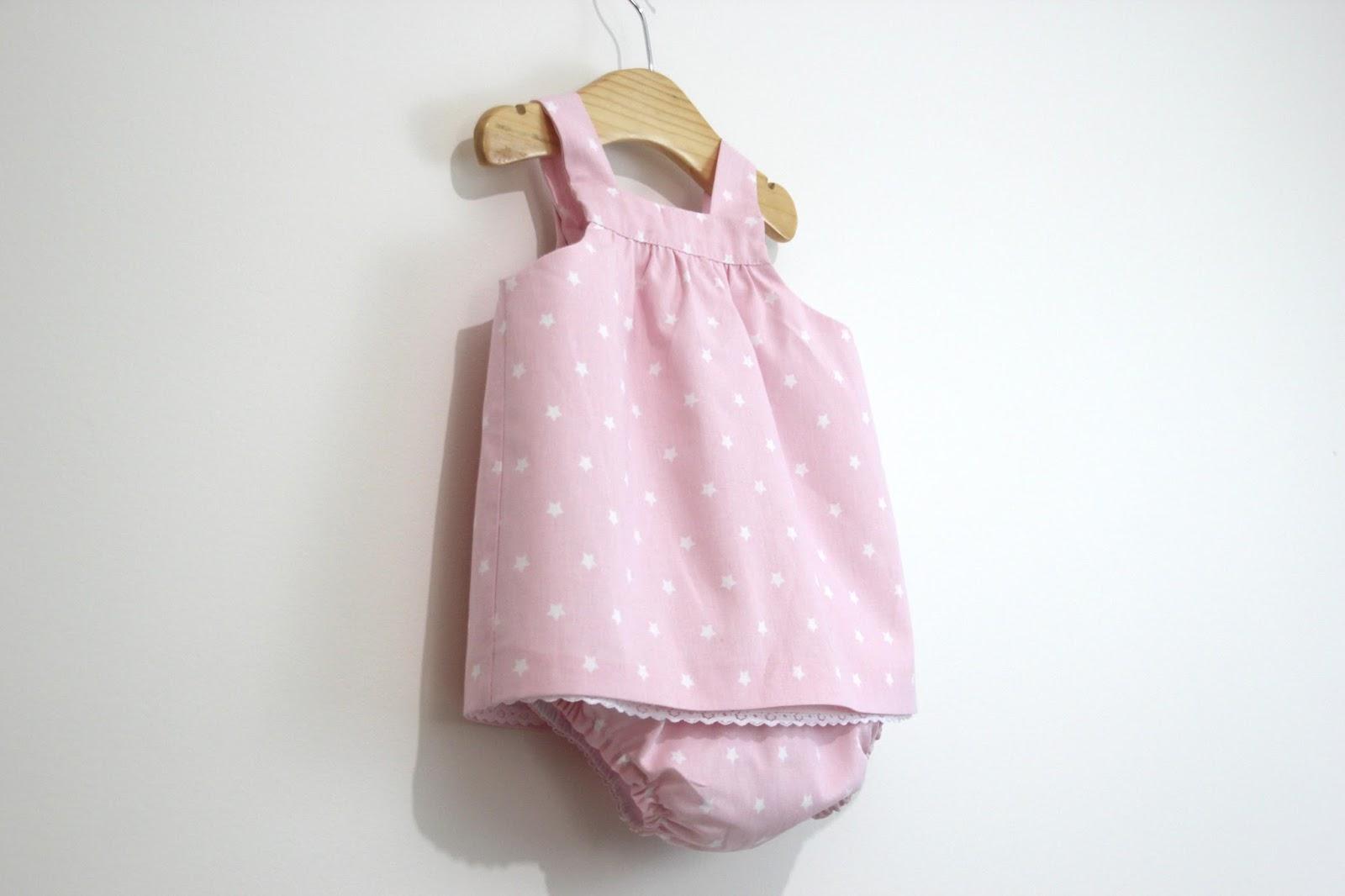 DIY Tutorial y patrones VESTIDO y BRAGUITAS para bebé | | Oh, Mother ...