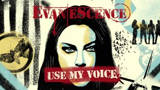 Use My Voice Lyrics - Evanescence