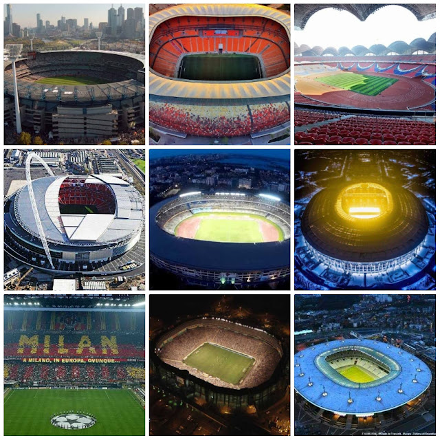 The largest football stadiums in the world 2020