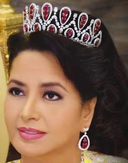 ruby tiara johor malaysia queen permaisuri raja zarith sofiah