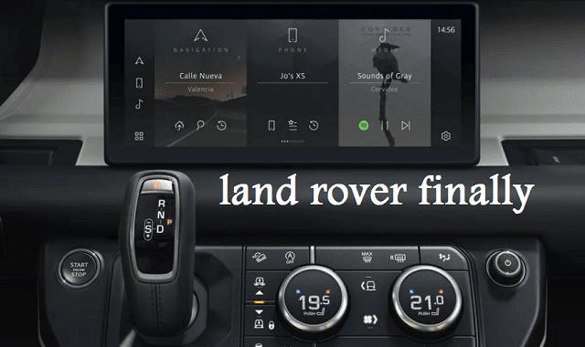 لاند لوفر 2020 - تتيح الاتصال ب 2 هاتف في نفس الوقت