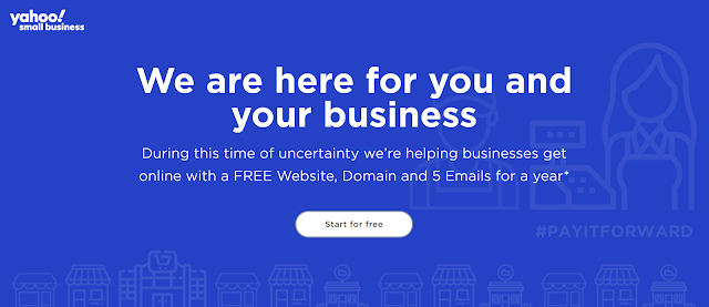 [FREE ] Website, Domain and 5 Emails for a year