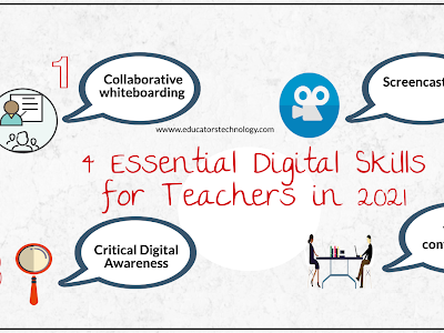 4 Essential Digital Skills for Teachers in 2021