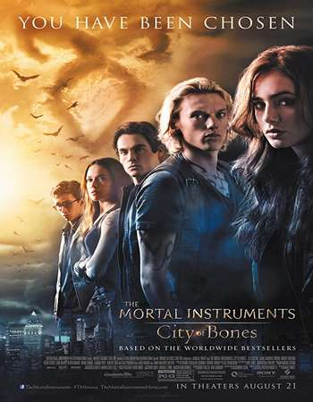 The Mortal Instruments City of Bones 2013 Hindi Dual Audio BRRip Full Movie Download