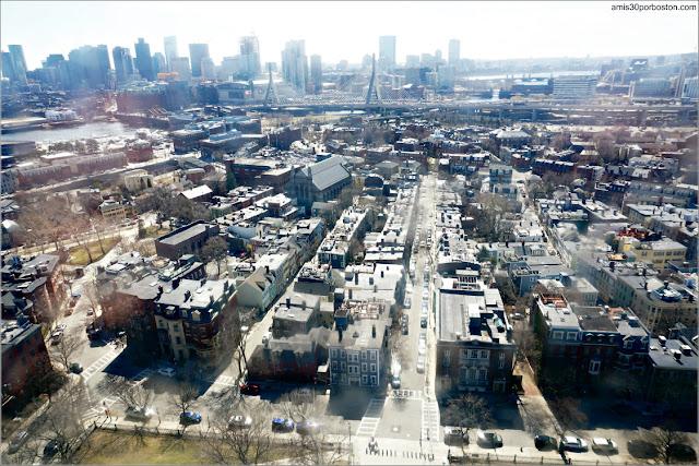 Vistas desde el Monumento de Bunker Hill, Charlestown