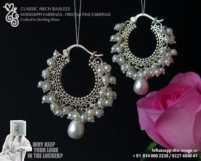 Crafted in Sterling Silver. Price is 2950.