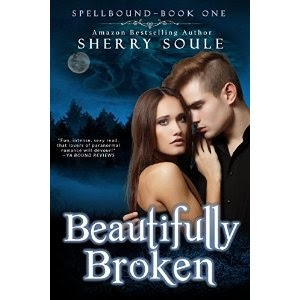 beautifully broken, sherry soule, paranormal romance