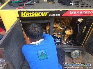 Service genset Krisbow