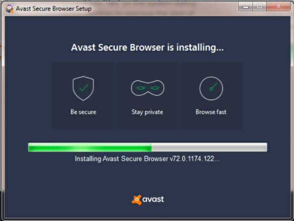 install avast browser
