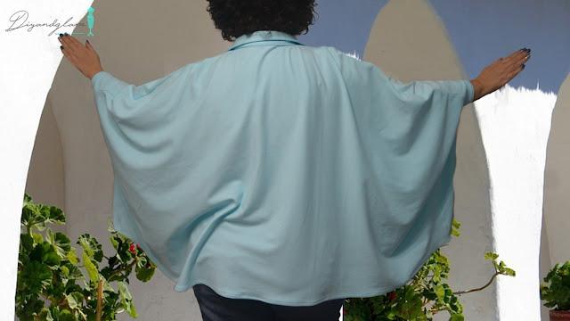 Tutorial blusa capa