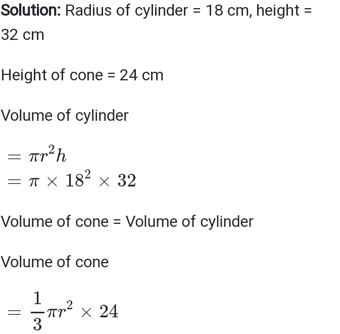 Exercise 13.3 Class 10 NCERT Solutions