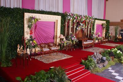 Dekorasi Pernikahan Muslimah Modern