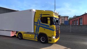 Performance Edition skin for Scania S 2016 truck