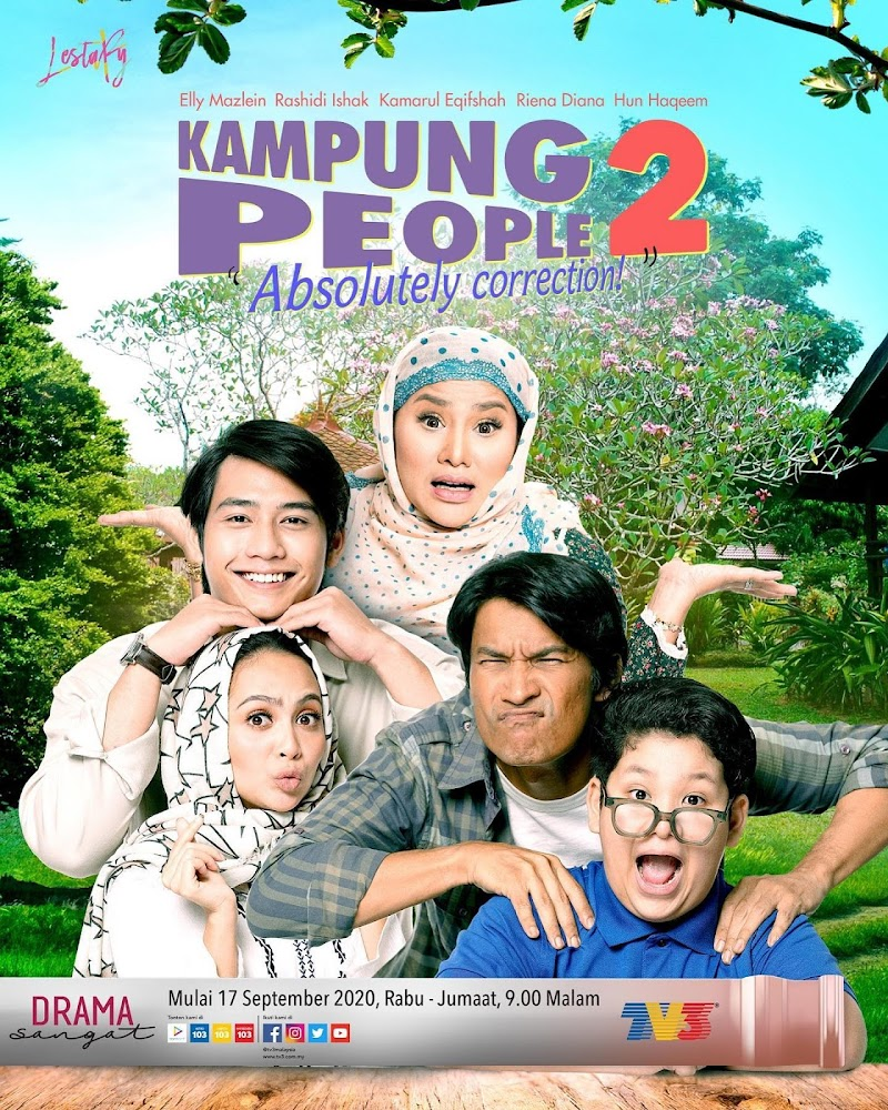 Drama Slot Lestary - Kampung People 2 Full Episode