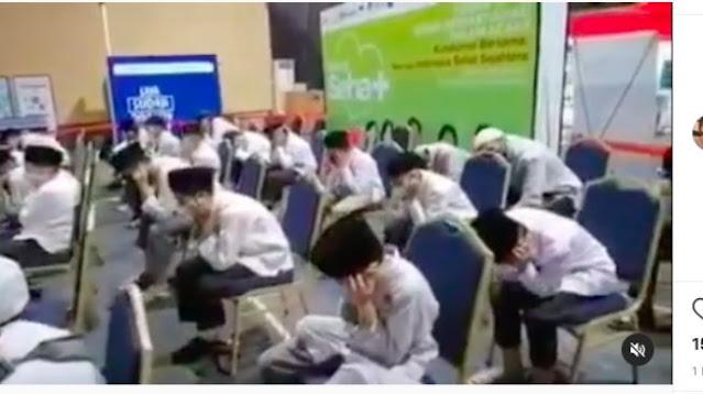 Santri Tutup Telinga Dengar Musik, MUI: Yang Ngatakan Lebay Mungkin Tidak Pernah Membaca Quran