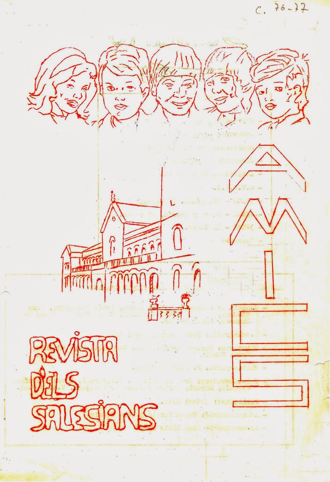Revista AMICS Curs 1976-1977