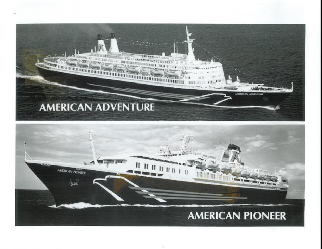 EUGENIO C. as the AMERICAN ADVENTURE and GUGLIELMO MARCONI as the AMERICAN PIONEER
