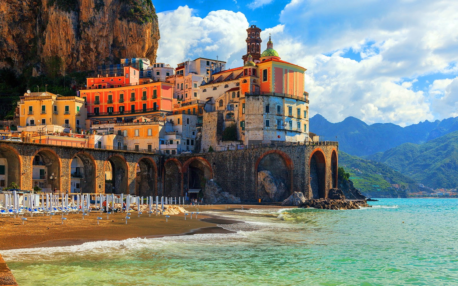 Atrani Italy Beautiful Coastal Village