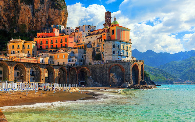 Atrani Italy Beautiful Coastal Village