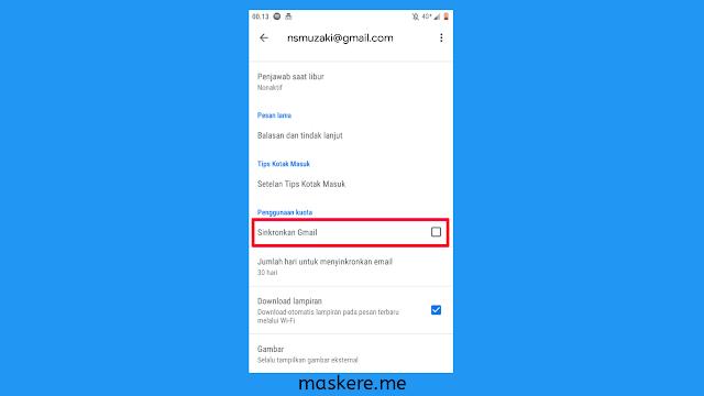 Cara mengatasi email dalam antrian [email tidak terkirim]