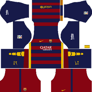 Kit DLS FC Barcelona 2015/2016