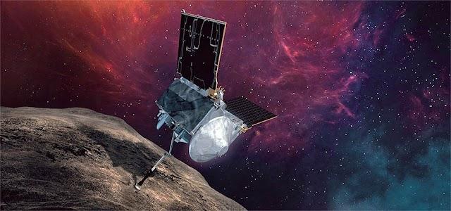 The NASA spaceship will land on the Bennu asteroid