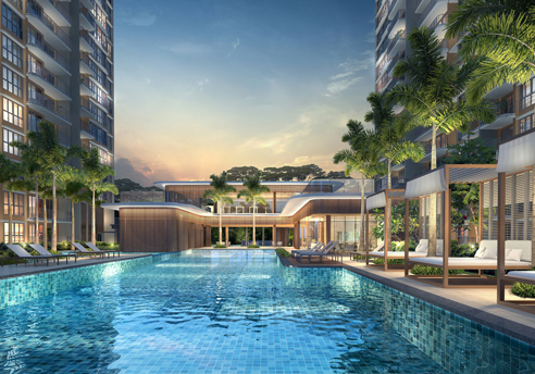 Hundred Palms Residences - Swimming Pool