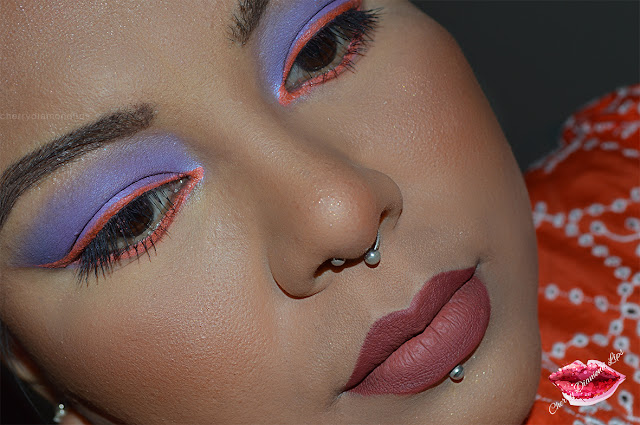 Euphoria inspired makeup, Maddy Perez/Alexa Demie Purple/Orange Makeup by Donny Davi, 12 Flash color palette ny imagic, Violet lights neutral gone wild palette w7, dupe soul blooming nabla, enchanted brilliance in bloom palette w7, dupe norvina anastasia beverly hills