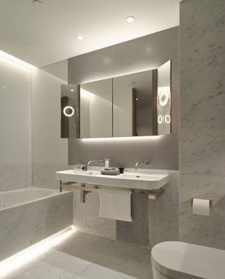 LED lighting tips and techniques for small bathrooms