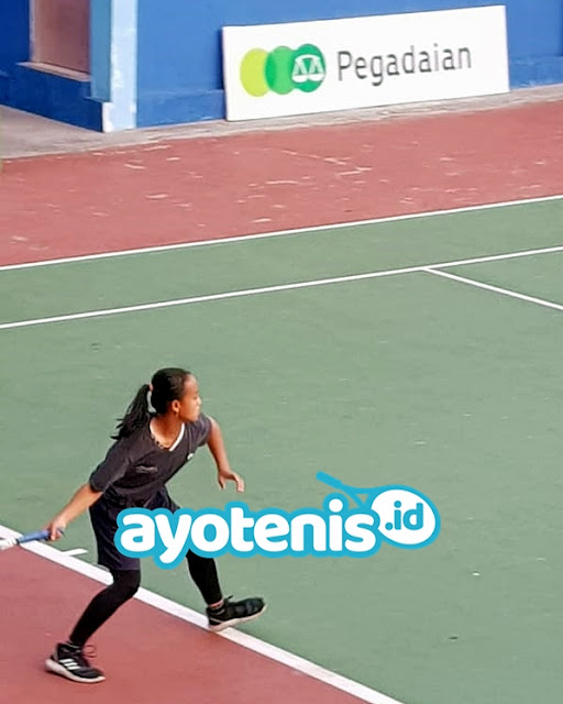 Siswi SMA Negeri 7 Surabaya Juara Disway Tennis Junior Championship