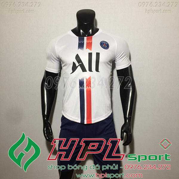 Áo câu lạc bộ PSG màu trắng 2020