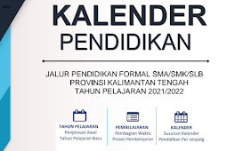 Kalender Pendidikan (Kaldik) 2021/2022 Kalimantan Tengah (PDF)