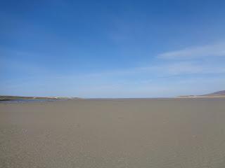 pláž v škótsku