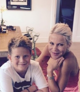 Picture of Natalie Wihongi with her son