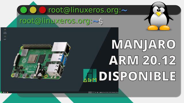 Manjaro ARM 20.12, con KDE Plasma 5.20, XFCE 4.14 y MATE 1.24